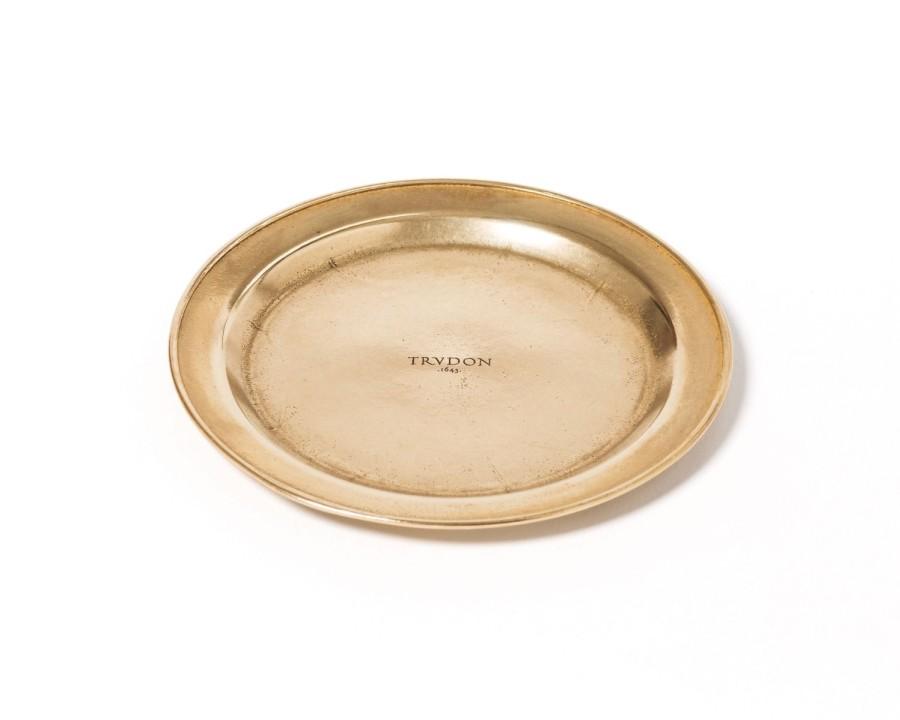 NAUJIENA Cire Trudon aukso spalvos žvakidė (cilindrinei žvakei)