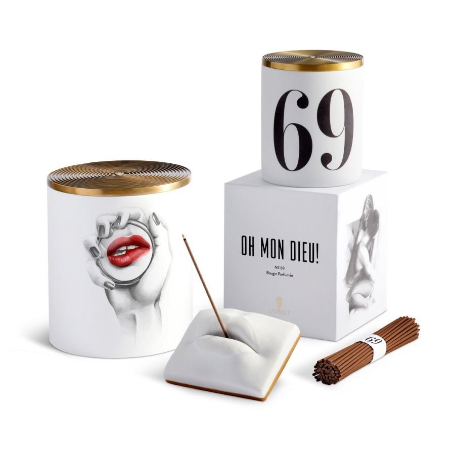 """L'Objet žvakė """"Oh Mon Dieu No. 69"""" (3 dagčių)"""